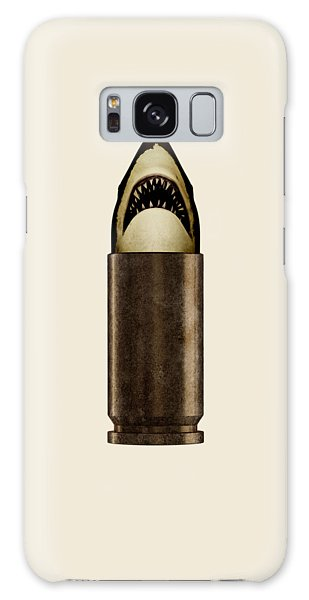 Sharks Galaxy Case - Shell Shark by Nicholas Ely