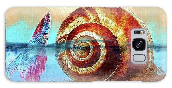 Shell Fish Galaxy Case
