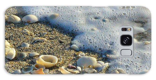 Shells And Seafoam Galaxy Case
