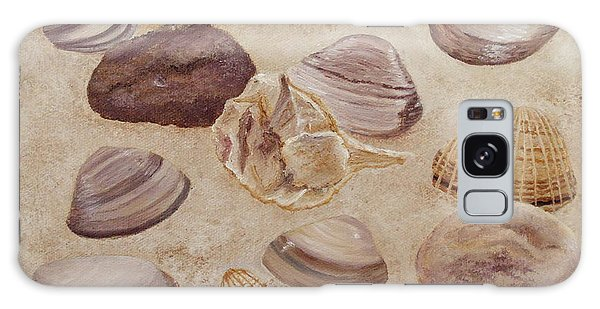 Shells And Stones Galaxy Case
