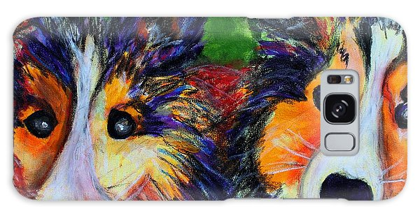 Sheltie- Whisper And Secret Galaxy Case