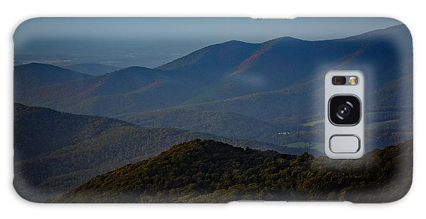 Shenandoah Valley At Sunset Galaxy Case