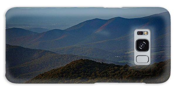Shenandoah Valley At Sunset Galaxy Case