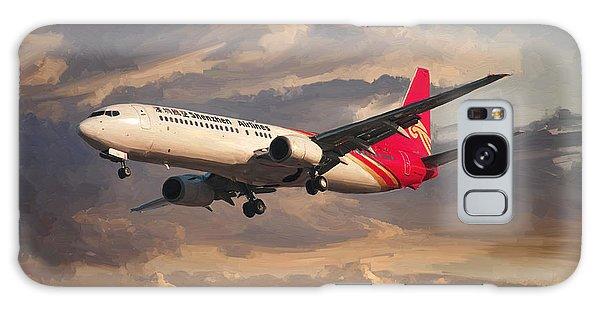 Shenzhen Airlines Boeing 737-900 Landing Galaxy Case by Nop Briex