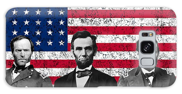 Us Civil War Galaxy Case - Sherman - Lincoln - Grant by War Is Hell Store