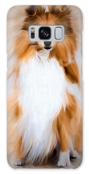 Shetland Sheepdog - Sheltie Galaxy Case