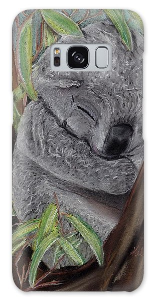 Shhhhh Koala Bear Sleeping Galaxy Case