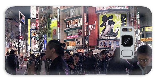 Shibuya Crossing, Tokyo Japan 3 Galaxy Case