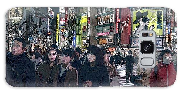 Shibuya Crossing, Tokyo Japan Poster 2 Galaxy Case