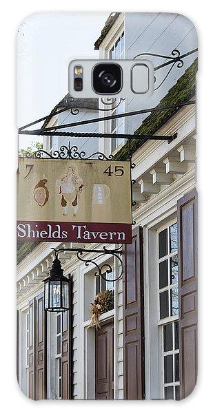Royal Colony Galaxy Case - Shields Tavern Sign by Teresa Mucha