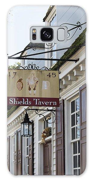 Shields Tavern Sign Galaxy Case