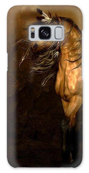 Native American Galaxy Case - Shikoba Choctaw Horse by Shanina Conway