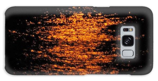 Shimmer Galaxy Case by Linda Hollis