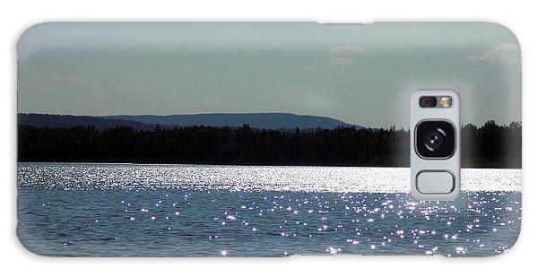 Aroostook County Galaxy Case - Shimmering Cross Lake by William Tasker