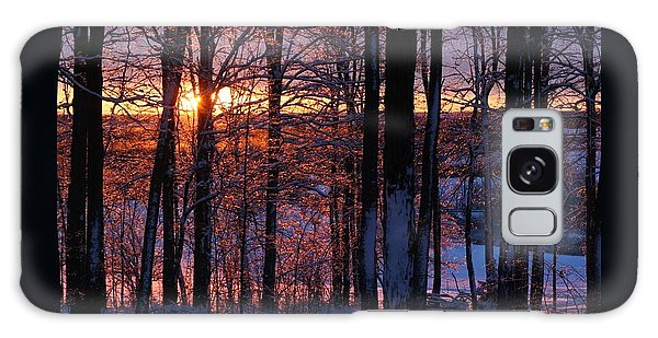 Shimmery Sunrise Galaxy Case by Patricia Overmoyer