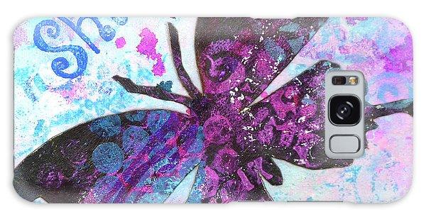Shine Butterfly Galaxy Case