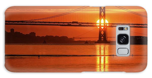 Galaxy Case featuring the photograph Shine On You Crazy Sun by Peter Thoeny