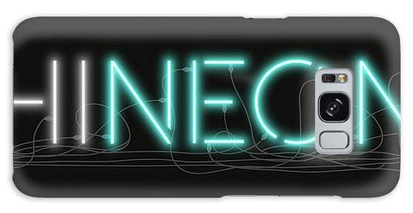 Shineonu - Neon Sign 1 Galaxy Case