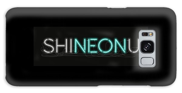 Shineonu - Neon Sign 1 Galaxy Case