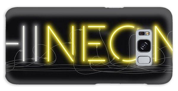 Shineonu - Neon Sign 3 Galaxy Case