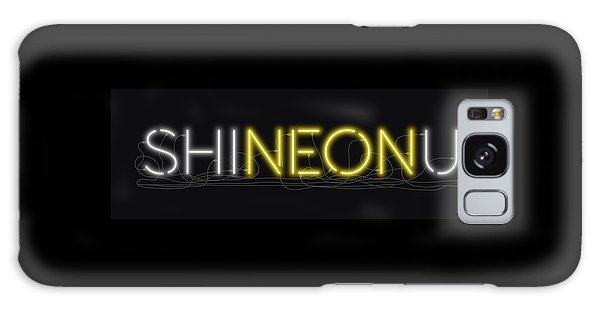 Shineonu - Neon Sign 3 Galaxy Case