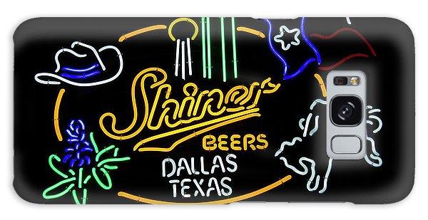 Shiner Beers Dallas Texas Galaxy Case