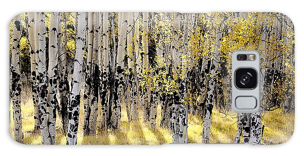 Shining Aspen Forest Galaxy Case
