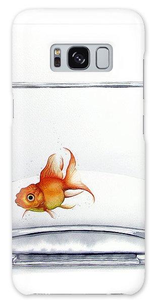 Goldfish Galaxy Case - Shiny by Christina Meeusen