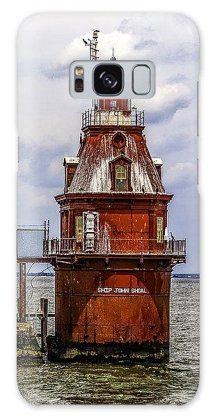 Ship John Shoal Lighthouse Galaxy Case
