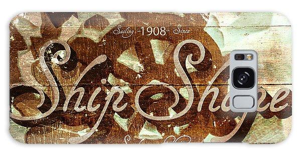 Shipping Galaxy Case - Ship Shape 1908 by Jorgo Photography - Wall Art Gallery