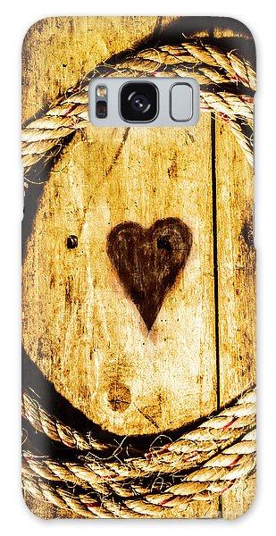 Round Galaxy Case - Ship Shape Heart by Jorgo Photography - Wall Art Gallery