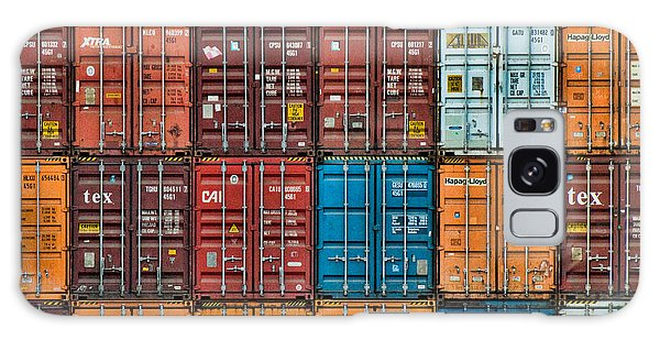 Shipping Containers Galaxy Case