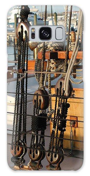 Ship's Rigging Galaxy Case by Nancy Taylor