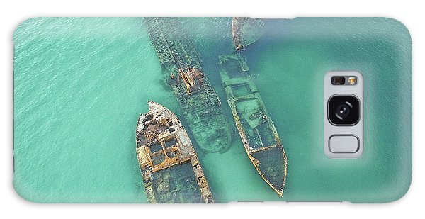 Shipwrecks Galaxy Case