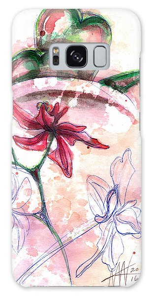 Shiraz Orchid II Galaxy Case