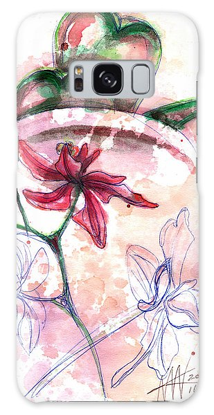 Shiraz Orchid II Galaxy Case