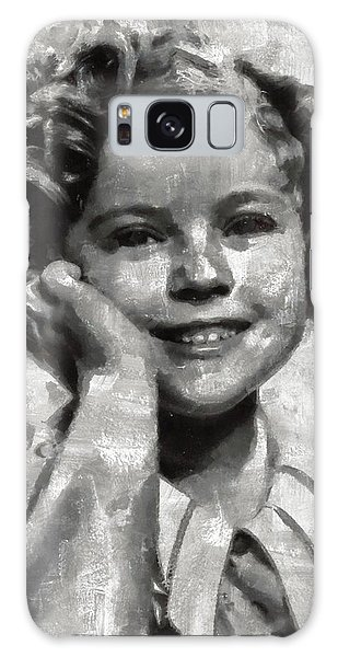 Shirley Temple By Mary Bassett Galaxy Case