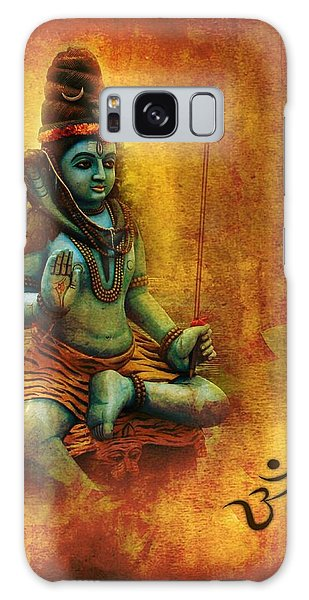 Shiva Hindu God Galaxy Case