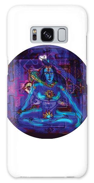 Shiva In Meditation Galaxy Case