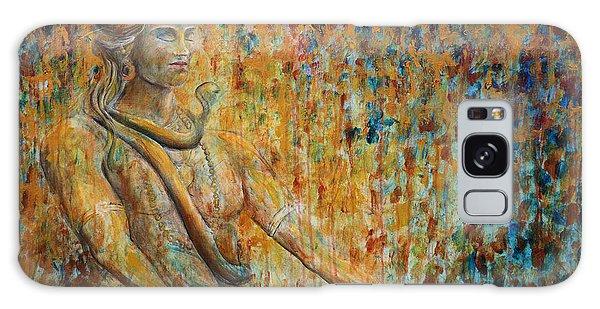 Cobra Galaxy Case - Shiva Meditation 2 by Nik Helbig