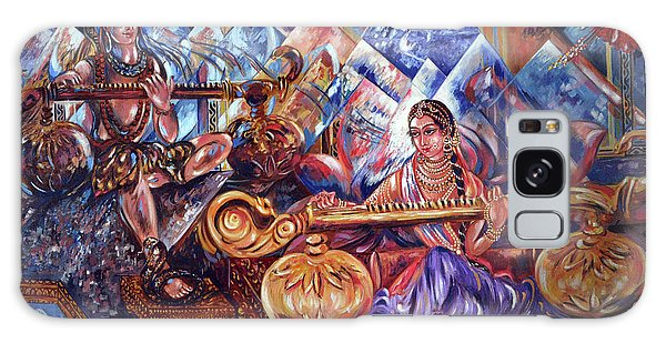 Shiva Parvati Galaxy Case