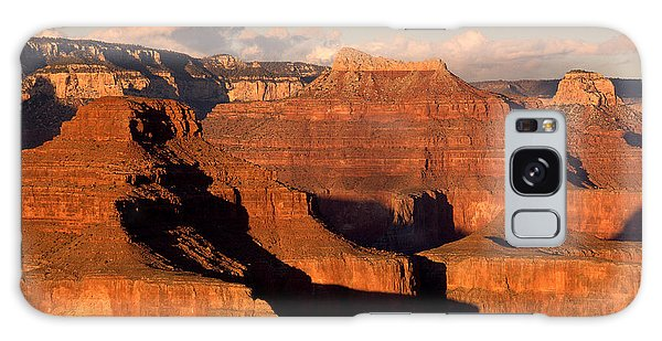Shiva Temple  At Sunset Grand Canyon National Park Galaxy Case