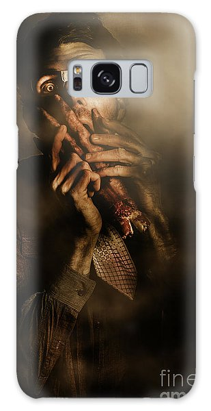 Cosplay Galaxy Case - Shock Of Terror On Fright Night  by Jorgo Photography - Wall Art Gallery