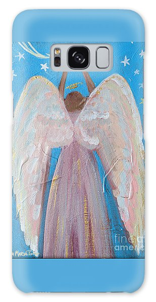 Shooting Star Angel Galaxy Case