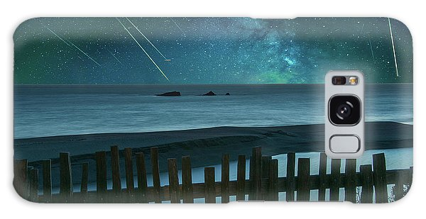 Shooting Stars Galaxy Case
