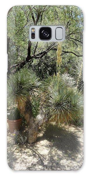 Shooting Up Cactus Garden Galaxy Case