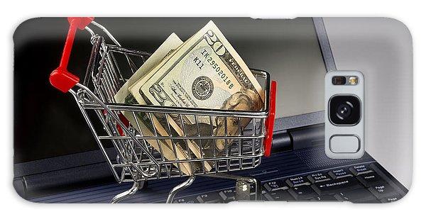 Online Shopping Cart Galaxy Case - Shopping Online. by W Scott McGill
