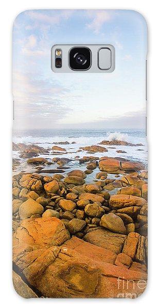 Shore Calm Morning Galaxy Case by Jorgo Photography - Wall Art Gallery