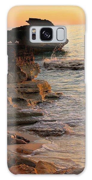 Shoreline In Bimini Galaxy Case