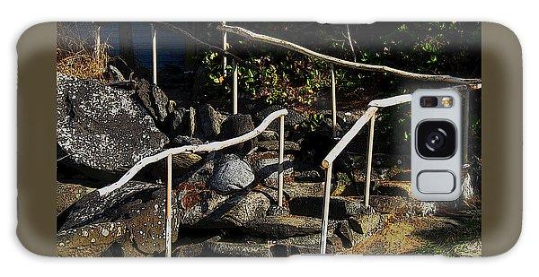 Shoreline Steps  Galaxy Case by Anne Havard